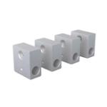 Оригинал Anet® 4Pcs 20 * 20 * 10 мм Φ6 M6 Алюминиевый нагревательный блок для 3D-принтера Prusa i3 Hot End
