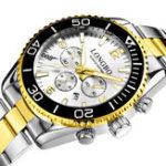 Оригинал LONGBO80523МужскиесветящиесяВодонепроницаемыКварцевые часы