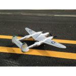 Оригинал MD P38 1200 мм Размах крыльев EPO RC Самолет Lockheed P-38 Подсветка Zoom Самолет KIT Only Fixed Wing