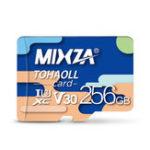 Оригинал MIXZA 256G C10 Профессиональная высокоскоростная карта памяти для мобильного телефона Видеорегистратор IP Sport камера