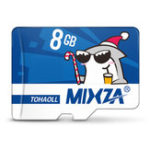 Оригинал Mixza Christmas Shark Limited Edition 8GB U1 Class 10 TF Микро Карта памяти для цифровых зеркальных фотоаппаратов камера ТВ Коробка MP3