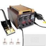 Оригинал Handskit 939DSMD 3 в 1 Пайка Станция горячего воздуха Rework Station Сенсорный экран телефона Сепаратор для ремонта мобильных телефонов