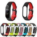 Оригинал BakeeyDualцветМеталлПряжкаЗамена Силиконовый Часы Стандарты для Xiaomi Стандарты 4 & 3 Smart Watch