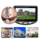 Оригинал 4.3 дюймов LCD TF карта Smart Viewer для глазок Дверной глазок Ночное видение камера Дверной звонок