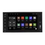 Оригинал 7 дюймов для Android 8.1 1 + 16G Авто стерео Радио MP5-плеер Quad Core 2DIN 2.5D WI-FI Bluetooth GPS FM для Toyota Corolla