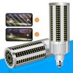 Оригинал E27 54 Вт Без Лампа Крышка Вентилятора Охлаждения 296 LED Кукурузная Лампа для Магазина Дома Фабрика AC100-277V