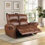 Оригинал ПУкожаныйоткиднойдиванLoveseatдля гостиной скользящий диван Loveseat стул кожаный диван