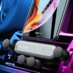 Оригинал Air Vent Gravity Linkage Автоматическая Замок Авто Крепление Авто Держатель телефона для 4.0-6.5 дюймов Смартфон iPhone XS Макс Samsung Xiaomi