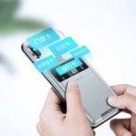 Оригинал Baseus Universal Phone Back Слот для карты Палка Сумка Кошелек Защитный Чехол Силиконовый Защита от отпечатков пальцев для Samsung / iphone / Xiaomi / Huawei/Redmi Note 7/Red