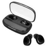 Оригинал TWS Sports Dual Bluetooth V5.0 Наушник Hi-Fi Беспроводные наушники с микрофоном 3000 мАч Зарядка Чехол