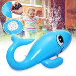 Оригинал Кит Надувной Водный Спринклер Ride Газон Плавание Бассейн Float Toys Дети На открытом воздухе