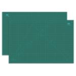Оригинал Ou Ge 883A1 Трехслойный черный сердечник A1 Мат для резки нестандартных размеров зеленого цвета для канцелярских принадлежностей