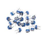 Оригинал 100шт RM065 500K Ом Trimpot Триммер Потенциометр Переменный Резистор
