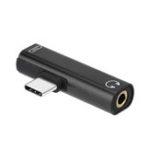 Оригинал USB Type-C до 3,5 мм Aux Jack Аудио кабель для Xiaomi 9 Huawei P30 Pro Oneplus 7 Аудио адаптер зарядки