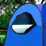 Оригинал 120x120x190см PopUp Одежда для переодевания Туалет Душ Рыбалка Кемпинг Платье Ванная комната Палатка