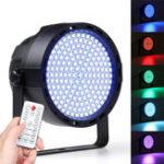Оригинал 169 LED RGBW Сцена 33 Вт Световой эффект Par Лампа Club DJ Party Диско Освещение с контроллером Дистанционный