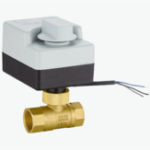 Оригинал TMOK AC 220V 1/2″ 3/4″ 1″ 1-1/4″ Motorized Electric Brass Ball Valves 2 Way 3 Wires Full Port Valve