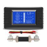 Оригинал PZEM-015 Батарея Тестер DC Напряжение Ток Мощность Емкость Внутреннее и внешнее сопротивление Измеритель остаточного электричества с шунтом 30