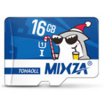 Оригинал Mixza Christmas Shark Limited Edition 16GB U1 Class 10 TF Micro Карта памяти для цифровых зеркальных фотоаппаратов камера Телевизор Коробка MP3