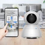 Оригинал XiaomiXiaovvQ8HD1080P360 ° панорамный IP камера инфракрасное ночное видение AI машина обнаружения движения панорамный камера