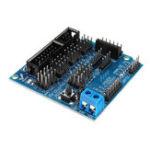 Оригинал Sensor Shield V5.0 Расширительная плата датчика для электронных блоков DIY для деталей робота