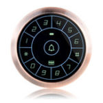 Оригинал ZKTco ZK-FP800E Металлический сенсорный контроллер доступа ID-карта Пароль Система контроля доступа Система посещаемости