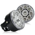Оригинал CNSUNNYLIGHT 2Pcs OSR LED Фара дневного света в сборе Белый 12V Авто DRL Противотуманные фары дневного света Заменить для Toyota Аксессуары для стайлинга ав