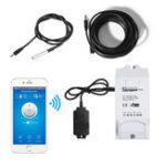 Оригинал SONOFF® TH10 TH16 Smart WIFI Switch Контроль температуры и влажности Wifi Smart Switch Home Automation Набор Работает с Alexa Google Home