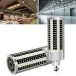 Оригинал AC100-277V E27 50W Вентилятор охлаждения LED Кукурузная лампочка без Лампа Крышка для внутреннего украшения дома