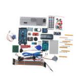 Оригинал Geekcreit® Mega 2560 R3 Стартовые комплекты Мотор Сервопривод RFID Ультразвуковое дистанционное реле LCD Для Arduino