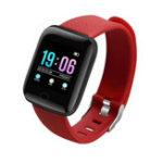 Оригинал Bakeey 1.3 'Динамический UI HR Артериальное давление Социальное приложение Уведомление Анти-потерянный будильник Smart Watch