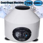 Оригинал 800D Электрическая Центрифуга Машина Лаборатория Лаборатория Медицинская 4000RPM C 6×20 мл Ротор