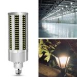 Оригинал AC100-277V E27 60W Без строба-вентилятора охлаждения 312LED Кукурузная лампочка без Лампа Крышка для домашнего декора