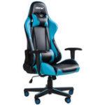 Оригинал Merax Эргономичный офисный стул Racing Gaming Chair Компьютерный стул Регулируемый поворотный складной стул с поясничной опорой и подголовником