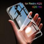 Оригинал BAKEEYПрозрачныйУльтратонкийSoftТПУЗащитный Чехол Для Xiaomi Redmi K20 / Xiaomi Redmi K20 Pro