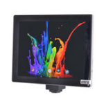 Оригинал Цифровой микроскоп HAYEAR CMOS 5.0MP с сенсорным экраном камера с планшетом 9.7 дюймов LCD