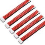 Оригинал 5PCS 4S 5Pin 2.54XH 30cm Lipo Батарея Зарядное устройство Силиконовый Провод Базовый удлинительный кабель