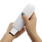 Оригинал USB Ультразвуковой скраббер для кожи лица Spatula Ion Skin Массаж