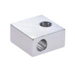 Оригинал Anet® 20 * 20 * 10 мм Φ6 M6 Алюминиевый нагревательный блок для 3D-принтера Prusa i3 Hot End