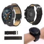 Оригинал 22ммКраснаяНитьОдинКожаныйРемешок Часы Стандарты для Huawei Часы GT Active Элегантный