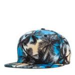 Оригинал Тропический ветер Кокос Flat Шапка Лист Хип-хоп шляпа Бейсболка