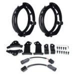 Оригинал Пара 7 дюймов Круглый LED Кольцо для крепления фар с кабелем Набор Для Jeep JK Wrangler / Harley