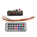Оригинал 2 В Bluetooth 5.0 MP3 Декодер Доска Аудио Модуль USB TF Радио Для Автомобиля + Контроллер