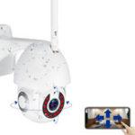 Оригинал 5X Zoom Водонепроницаемы WiFi IP камера PTZ Pan Tilt 1080P HD Безопасность IR камера Ночное видение