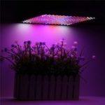 Оригинал 225LED Grow Light Blue & Red & White & Orange Лампа Ультратонкая панель Гидропоника для помещений Растение Овощной цветок AC85-265V