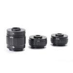 Оригинал HAYEAR 1X 0.35X 0.5X C-mount Объектив Адаптер Фокус Регулируемый камера Установка C-mount Адаптер для нового Тип Тринокулярный стереомикроскоп