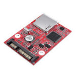 Оригинал SD на SATA SD SDHC MMC карта на SATA 7 + 15-контактный жесткий диск HDD конвертер