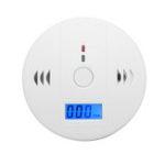 Оригинал Комбинированный дымовой детектор окиси углерода Gas Fire CO Alarm с Дисплей