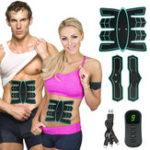 Оригинал Похудение электрическая стимуляция мышц, EMS мышц живота T