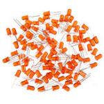 Оригинал 500шт 5мм LED Оранжевый Светодиодные Ноги Длинные 16-18 мм